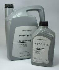 6  Liter VW Audi Seat Skoda Öl LongLife III 5L 0W-30 Motoröl 50400 / 50700