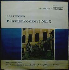 "10""-Vinyle BEETHOVEN - concerto pour piano nr. 5, Cor de Groot"