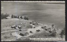 RP Postcard BOBCAYGEON Ont/CANADA  Pigeon Lake Green Acres Fishing Camp 1930's