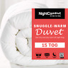 15 Tog Duvet Snuggle Ultra Warm Winter Duvet Luxury Single Double King Size