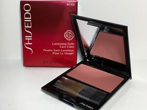 Shiseido Luminizing Satin Face Color Blush RS302 Tea Rose New in Box Full Size
