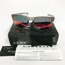 Oakley Sunglasses * Sliver R 9342-03 Matte Grey Ink Torch Iridium Polarized