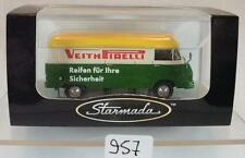 Brekina Starmada 1/87 Mercedes Benz L 206 Kasten Veith Pirelli OVP #957