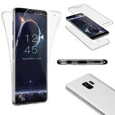 360° GRAD FULL BODY Samsung Galaxy S9 / S9 Plus Schutz Hülle Silikon Handy Case