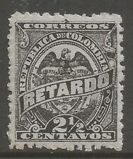 Timbres de l'Amérique latine violet