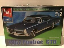 AMT/Ertl 1967 Pontiac GTO 1/25 scale kit NIB 2 door Hardtop