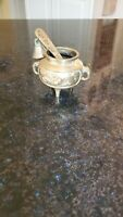 Miniature Brass Mortar And Pestle