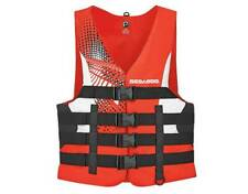SEADOO PFD MEN'S MOTION RED SM-4XL