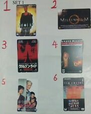 Japan movies phone cards assorted lot