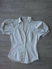 Chemise gris perle 3 SUISSES taille 36, tbe!