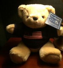 POLO Ralph Lauren TEDDY BEAR RL USA FLAG SWEATER - MINT - 1996 Vintage