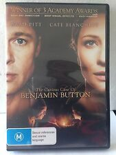 THE CURIOUS CASE OF BENJAMIN BUTTON - BRAD PITT (R4-PAL-LIKE NEW) - DVD #616