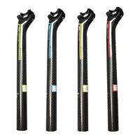 TOSEEK 3K FULL Carbon 4 Colors Lay Back Seat Post 27.2 / 30.8 / 31.6 x 350mm