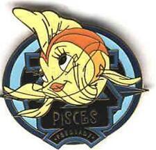 Cleo the fish Zodiac Signs Horoscope Febuary Pisces 2001 Le Disney Pin Pom