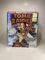 Tomb Raider Gold II NIB SEALED Original PC Big Box VTG Lara Croft 4 Bonus Levels