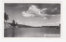 Rppc,Big Bear Lake,Ca.Scene from Dam,San Bernardino Mts.& Co.Used,Big Bear,1950