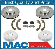 03-08 Vibe & Matrix FWD Rotors Pads Drums & Shoes 80104 B785 Cyl & Springs 6Pc