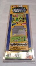 NEW!! Travel Game Boredom Breakers Magnet Message Makers Stickers Rand McNally