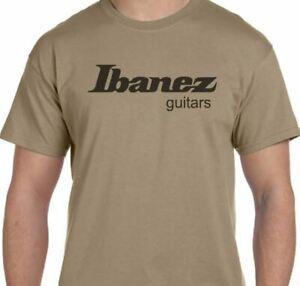Ibanez Guitars Khaki T Shirt