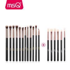 MSQ 12pcs+6pcs Eye Makeup Brushes Set Pro Eyeshadow Blending Make Up Brush Soft
