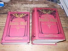 2 vocabolari Nuovo Dizionario delle Lingue Vol. I II Inglese Casanova 1932 MI ^