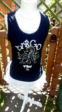 ~*~ Black Vest (VIRGO)Size 10-12 TU ~*~