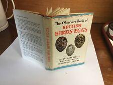 observers book of british birds Eggs 1st Ed 1954;