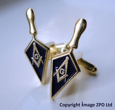 ZP258 Masonic Cufflinks Trowel Freemason Working Tool Master Mason Degree