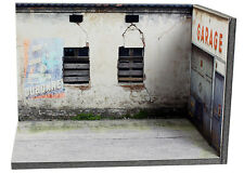 Diorama présentoir Garage abandonné (3 faces) - 1/43ème - #43-3-A-Y-AE-001