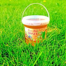 100%PURE RAW ORGANIC HONEY 1kg- ENJOY THE NATURAL TASTE-Harvested Summer 2020