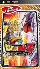 PSP Game Dragonball Dragon Ball Z Shin Budokai 1