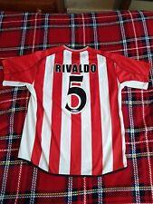 Rivaldo 5 Olympiakos Home Jersey Xl 48 Ultra Rare