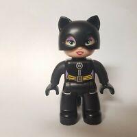 LEGO DUPLO Super Heroes Batcave Adventure Set 10545 Catwoman Minifigure Figure