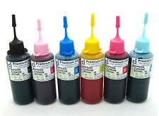 CISS CIS Compatible Ink Refill Bottles Fits Epson Stylus Photo 1500W NON-OEM