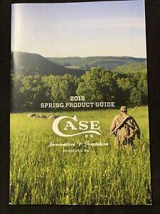 Case XX 2015 Dealer Knife Catalog Spring Product Guide