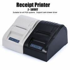 Thermal Receipt Printer Small Ticket Barcode Printing Machine USB Wired Tool New