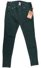 NEW Womens Stunning True Religion 'CASEY SUPER SKINNY' Emerald Jeans Size 29