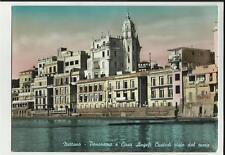 nettuno panorama e casa angeli custodi visto dal mare primo colore  spedita 1958