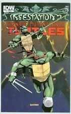 Teenage Mutant Ninja Turtles: Infesation #1 March 2012 VF/NM Variant Cover
