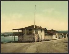 Old Custom House Monterey Cal A4 Photo Print