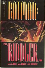 Batman: Run, Riddler, Run #1-3  (VF/NM First Prints) (Complete Series)
