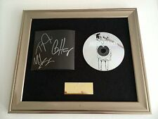 SIGNED/AUTOGRAPHED WE ARE THE IN CROWD - WEIRD KIDS FRAMED CD PRESENTATION. RARE