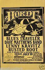 BLUES TRAVELER / DAVE MATTHEWS / LENNY KRAVITZ 1996 TEXAS HORDE FESTIVAL POSTER