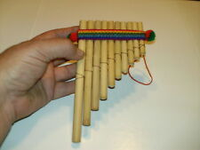 Pan Flute Antara Siku 10 Pipe EASY TO PLAY -  FREE SHIPPING USA