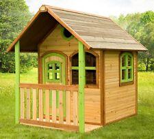 casetta in legno bambini casa gioco giardino 174 centimetri altezza con veranda