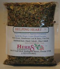 Herbs by Merlin HELPING HEART TEA- Cholesterol, Blood Prsr Organic leaf tea 3 oz
