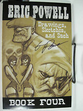 Eric Powell Drawings Sketches & Such Book Four Convention Sketchbook The Goon