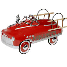 Kids Red Fire Engine Pedal Car (Fire Fighter)