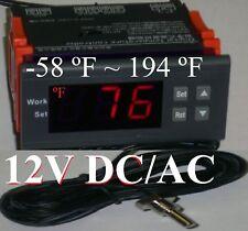 Temperature Control Thermostat Fahrenheit 12v Fr Ic Intercooler Sprayer System