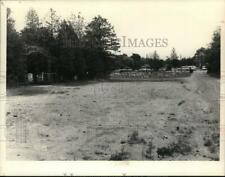 1982 Press Photo Queensbury, New York field where PCB contamination was found